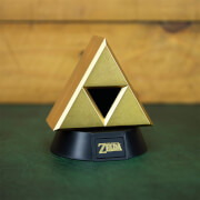 The Legend of Zelda Gold Triforce Icon Light