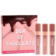 L'Oreal Paris caja de chocolates Ultra-mate líquido Lip Set de regalo