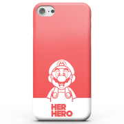 Super Mario Her Hero Phone Case for iPhone and Android - iPhone 8 - Carcasa rígida - Mate