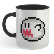 Super Mario Be My Boo Mug - White/Black
