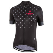 Bianchi Isca Women's Short Sleeve Jersey - L - Black