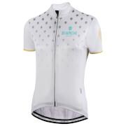 Bianchi Isca Women's Short Sleeve Jersey - XXL - White