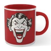 Batman Crazy In Love Mr. J Mug - White/Red