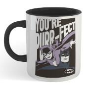 Batman You're Purr-fect Mug - White/Black