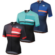 Sportful Team 2.0 Drift Jersey - M - Twilight Blue/Cosmic Blue/Orange SDR