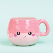 Kawaii Pufferfish Mug