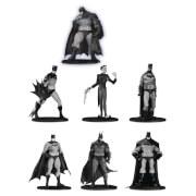 DC Collectibles Batman Black & White PVC Minifigure 7-Pack Box Set #3 10 cm