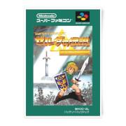 Nintendo Retro Zelda Cover Art Print