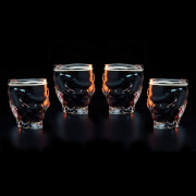 Call Of Duty 4 Pack Skull Glass Bundle