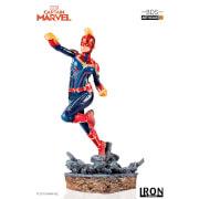 Iron Studios Marvel Comics BDS Art Scale Statue 1/10 Captain Marvel 20 cm