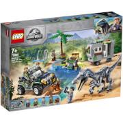 LEGO Jurassic World: Baryonx Face Off (75935)
