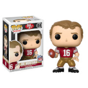 NFL Joe Montana 49ers Home Jersey Pop! Vinyl Figure