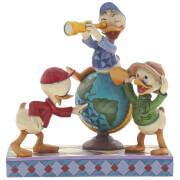 Disney Traditions Navigating Nephews (Huey, Dewie and Louie Figurine) 17.0cm