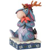 Disney Traditions Winter Wonders (Eeyore Christmas Figurine)