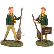 Harry Potter Village The Weasly Twins 8.0cm