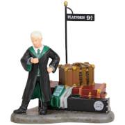 Harry Potter Village Draco Malfoy at Platform 9 3/4 Figure 9.0cm