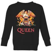 Queen Crest Kids' Sweatshirt - Black