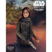 Mini-buste Jyn Erso (Commandant Seal) de Star Wars, échelle 1:6 (16 cm) – Gentle Giant