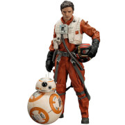 Kotobukiya Star Wars: The Force Awakens Poe Dameron and BB-8 ArtFX+ Statue (2 Pack)