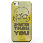 Scooby doo smarter than you phone case for iphone and android samsung s6 coque simple vernie