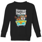 Scooby Doo Mystery Machine Heavy Metal Kids' Sweatshirt - Black