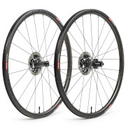 Scope R3 Disc Carbon Clincher Wheelset - Shimano - Black Decals