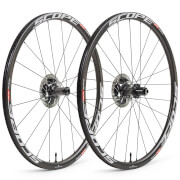 Scope R3 Disc Carbon Clincher Wheelset - Shimano - White Decals
