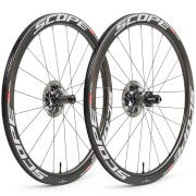 Scope R4 Disc Carbon Clincher Wheelset - Shimano - White Decals