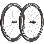 Scope R5 Carbon Clincher Wheelset - Shimano - White Decals