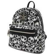 Loungefly Nightmare Before Christmas Sugar Skull AOP Mini Backpack