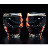 Call Of Duty 2 Pack Skull Glass Bundle Mug