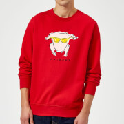 Friends Turkey Sweatshirt - Red