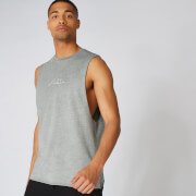 Neon Signature Oversized Tank - Grey