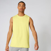 Neon Signature Oversized Tank - Lime