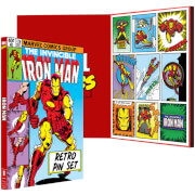 Iron Man Pin Set