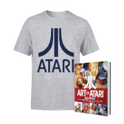 Lot Atari Officiel : t-shirt + livre