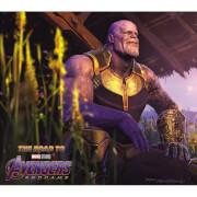 The Road To Marvel's Avengers: Endgame - The Art Of The Marvel Cinematic Universe (Hardback)