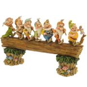 Enesco Disney Showcase Collection Statue Seven Dwarfs Masterpiece (Snow White) 30 cm