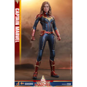 Hot Toys Captain Marvel Movie Masterpiece Action Figure 1 6 Captain Marvel 29 Cm