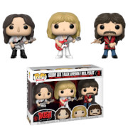 Pop! Rocks Rush Geddy, Alex, Neil 3-pack Pop! Vinyl Figure