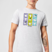 Ed edd n eddy heads mens t shirt grey xl gris