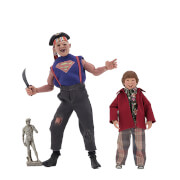Neca Goonies 8 Clothed Action Figures Sloth Chunk 2 Pack