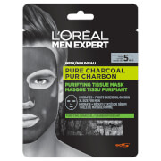 Купить L'Oréal Paris Men Expert Pure Charcoal Purifying Tissue Mask 30g