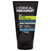 L'Oréal Paris Men Expert Pure Charcoal Anti-Blackhead Daily Face Scrub 100ml