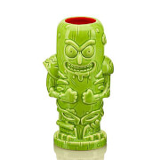 Beeline Creative Rick and Morty Pickle Rick 14 oz. Geeki Tikis Mug