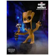 Statuette effet animée Groot & Rocket Racoon des Gardiens de la Galaxie de Marvel (10cm)– Gentle Giant