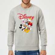 Mickey Mouse Disney Crew Sweatshirt - Grey