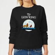 Disney Lion King Hakuna Matata Walk Women's Sweatshirt - Black