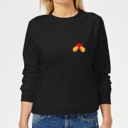 Disney Mickey Mouse Backside Women's Sweatshirt - Black