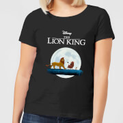 Disney Lion King Hakuna Matata Walk Women's T-Shirt - Black